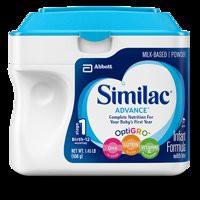 Sữa bột Similac Advance tối ưu hệ miễn dịch dành cho bé từ 0-12 tháng 658g