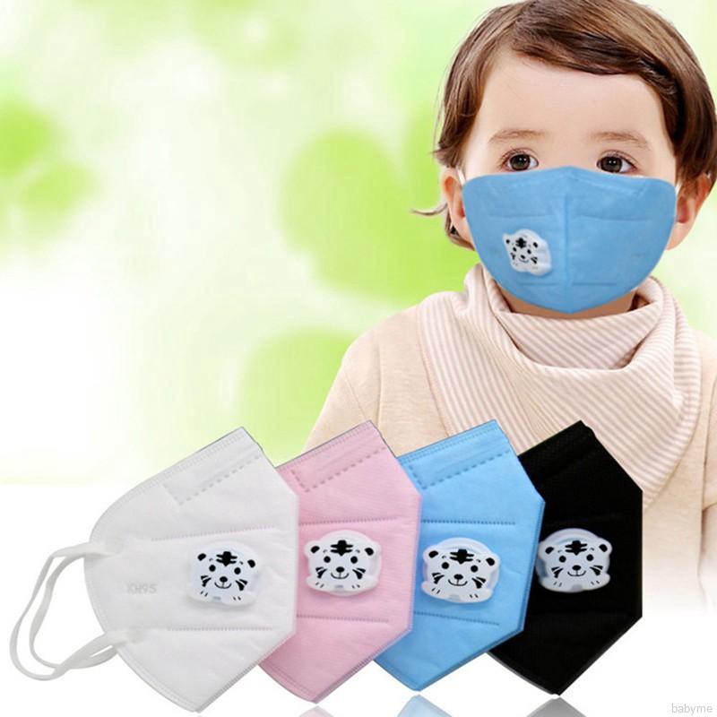 Anti-dust Baby Woven ♕ Face Non Respirator ღ Mask Flu Boys Babyme Disposable Girls