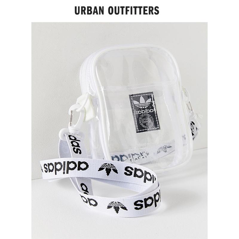 Túi Đeo Chéo Trong Suốt Thời Trang Họa Tiết Adidas