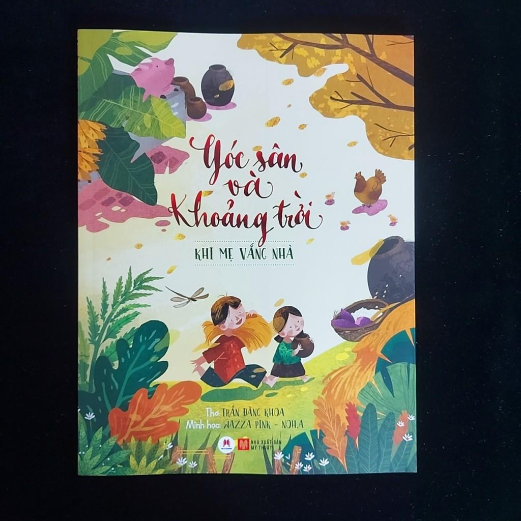 Sách - Combo 5c Góc sân và khoảng trời(HH)-dành cho bé 0-6 tuổi