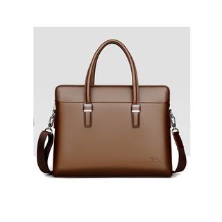 Túi xách da công sở nam có dây đeo chéo cao cấp chống thấm nước DH1803 – Nâu