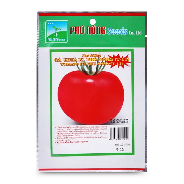 Cà chua F1 Phú Nông (T-11) 0.1gr