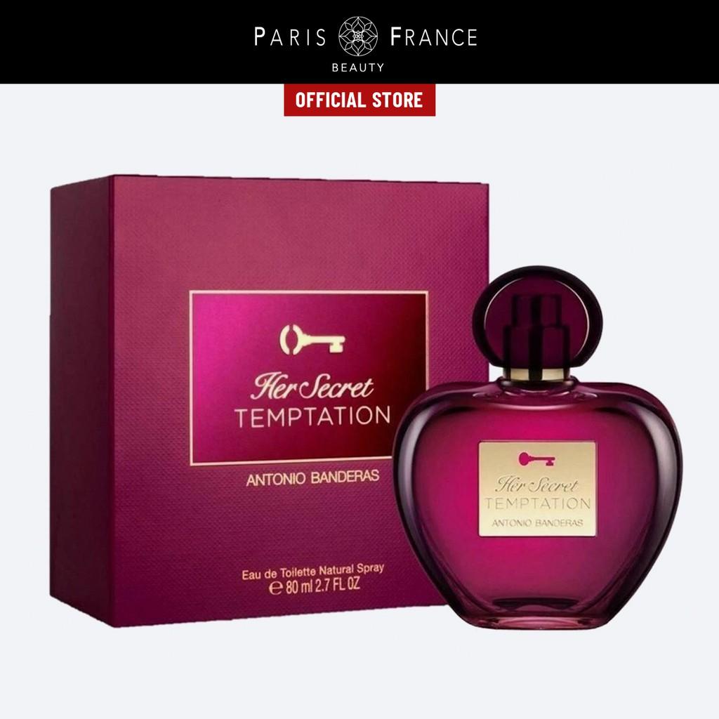 Paris France Beauty - Nước Hoa Nữ Antonio Banderas Her Secret Temptation EDT
