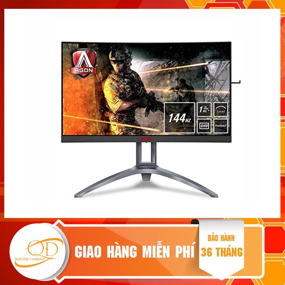 Màn hình AOC AG273QCX/74 (27inch/QHD/VA/144Hz/1ms/380nits/HDMI+DP+VGA+USB/FreeSync/Cong)