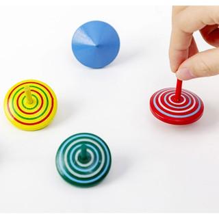 Con quay gụ gỗ nhiều màu giải trí cho trẻ (Màu ngẫu nhiên) thumbnail