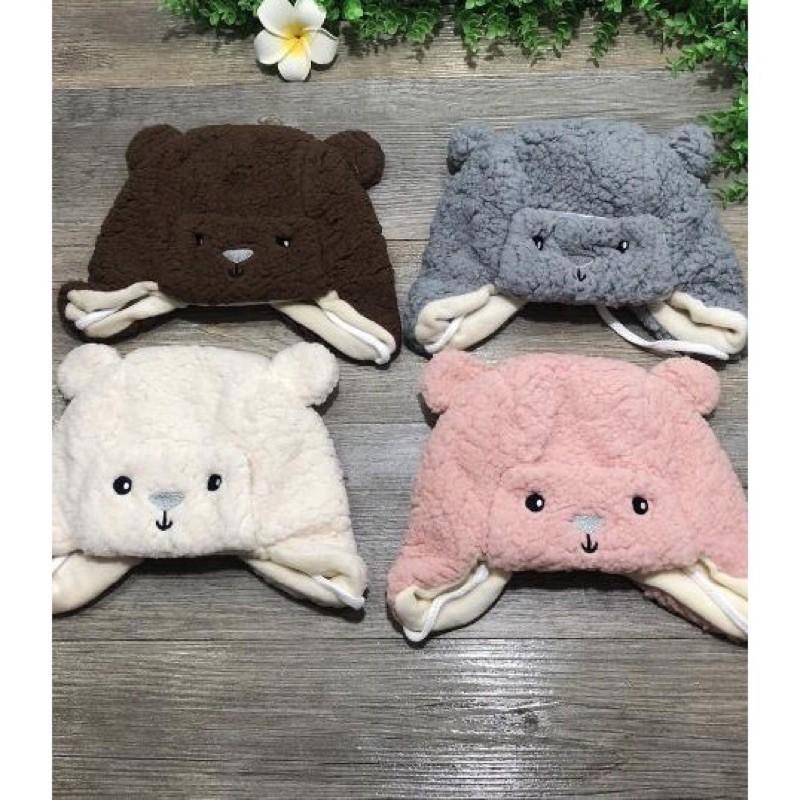 Mũ Gấu Lông Cừu