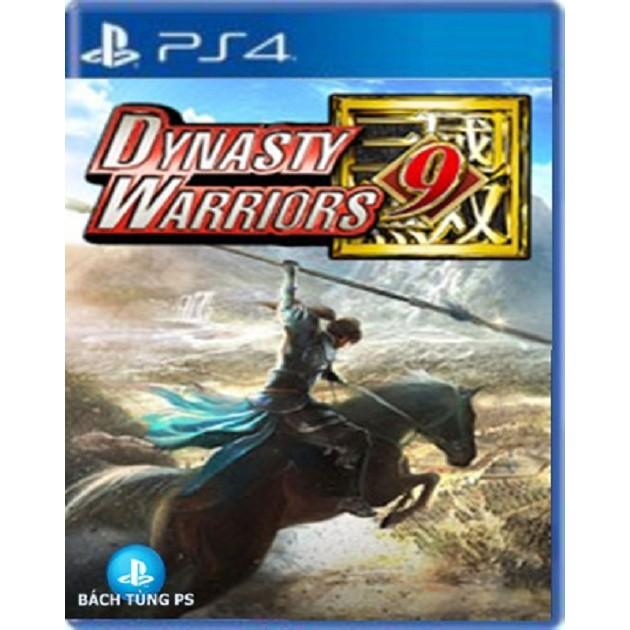 Đĩa Game PS4:Dynasty warriors 9
