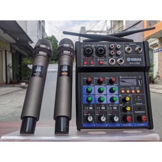 [TẶNG 2 MIC KHÔNG DÂY] Bàn Mixer G4 Bluetooth tạo vang tốt - thu âm, hát karaoke, livestream, youtuber -âm thanh sắc nét