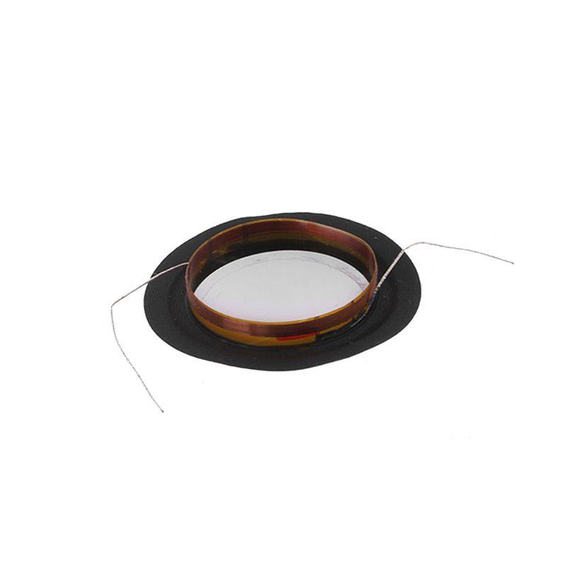 ❤❤ 2PCS Treble Voice Coil 25mm 8ohm Silk Film Diaphragm Membrane KSV Composite