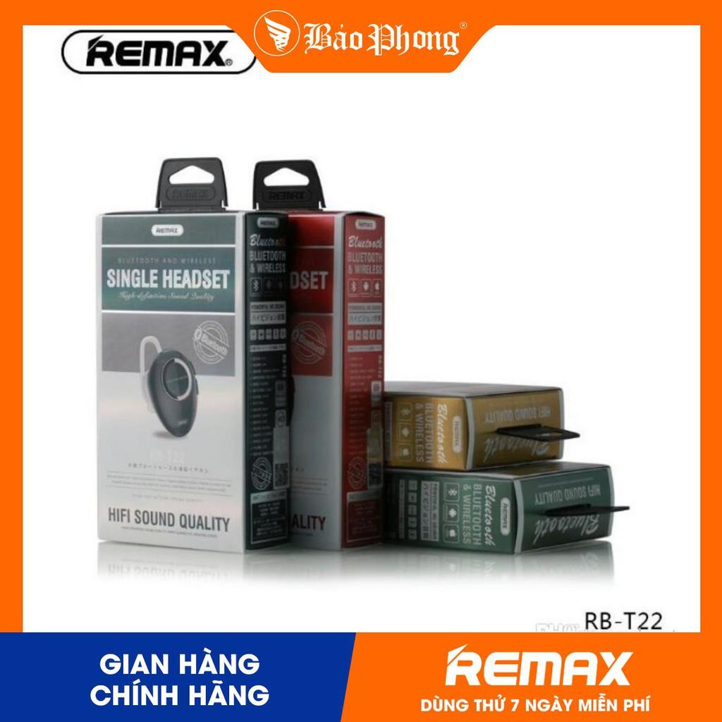 Tai nghe bluetooth 4.2 REMAX RB-T22- Hàng chính hãng