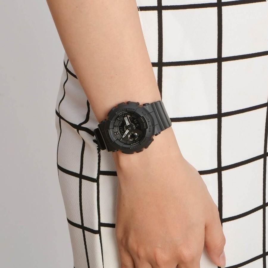 Đồng hồ nữ dây nhựa Casio Baby-G chính hãng Anh Khuê BA-110BC-1ADR