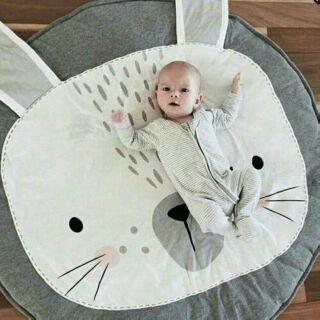 Thảm chơi hình thỏ (có ảnh thật)