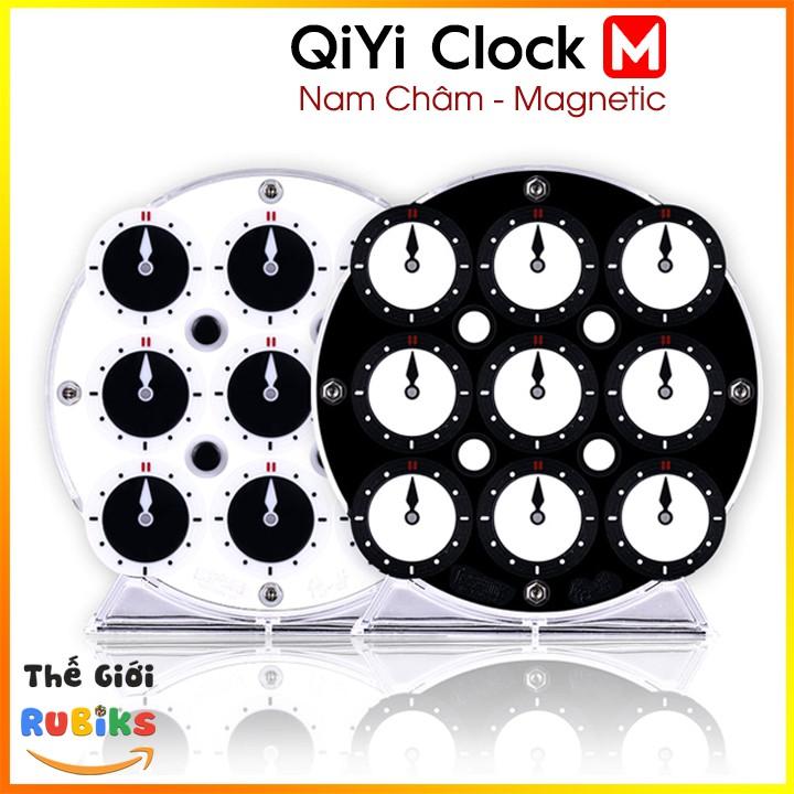 QiYi Magnetic Clock / SengSo Magnetic Clock Khối Rubik Clock Có Nam Châm (Hãng Mod M) / LingAo Clock