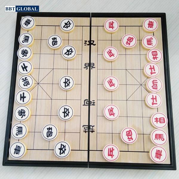 Bộ bàn cờ tướng nam châm BBT Global QX5699 size 25cm