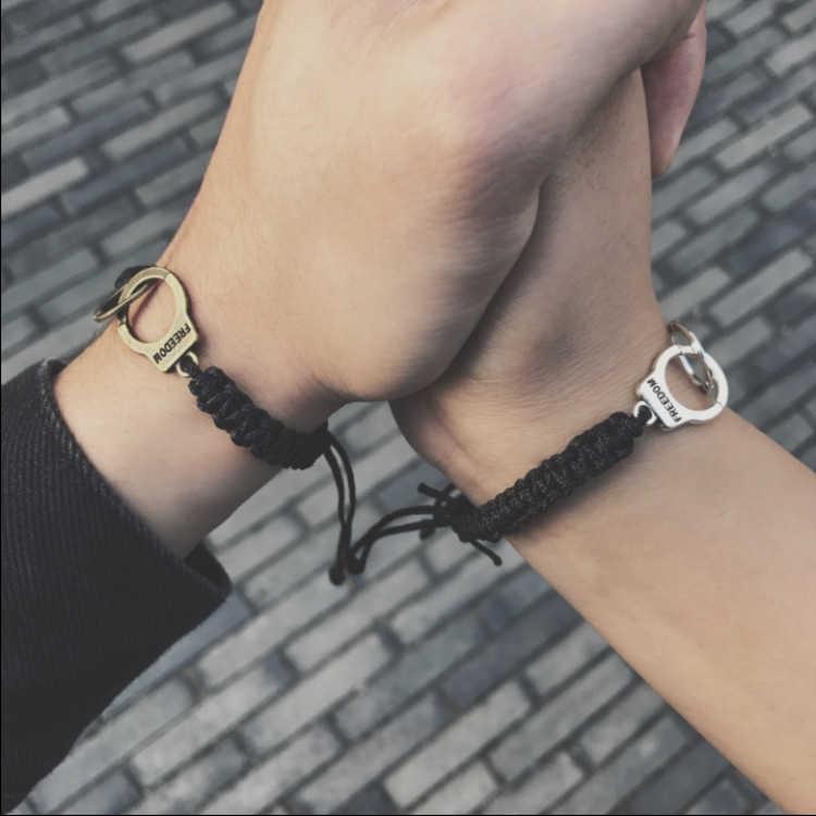 Vòng tay đan dây thủ công thời trang cho cặp đôi