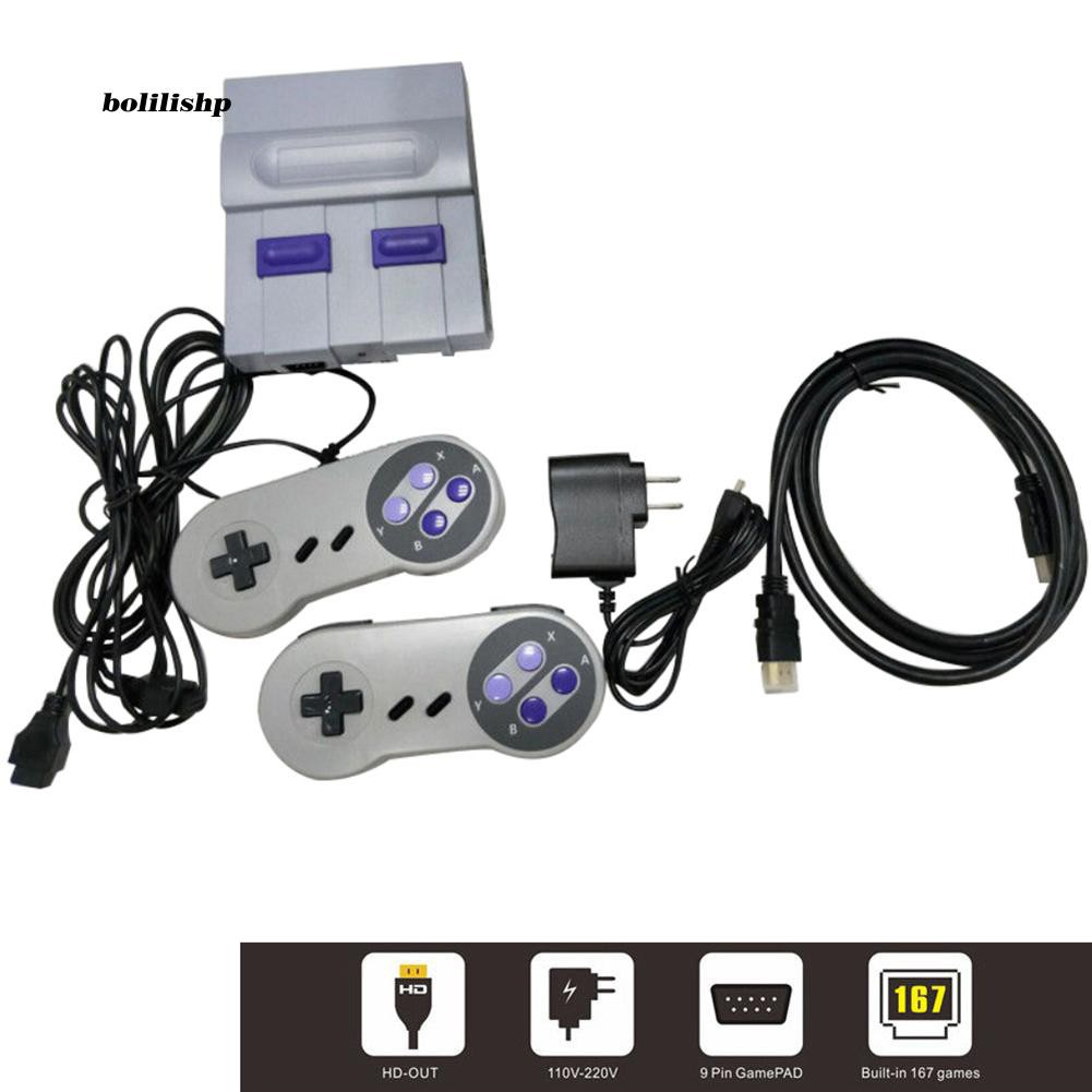 BLLP_Mini Retro Game Console Entertainment HDMI Built-in 821 Games for Nintendo