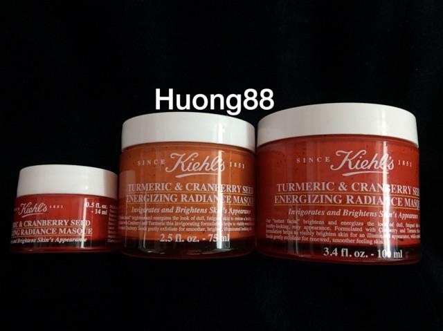 Mặt nạ nghệ Kiehl's Tumeric & Cranberry 100g