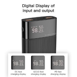Hình ảnh Sạc Dự Phòng KUULAA 20000mAh USB 3.0 Sạc Nhanh Cho Iphone Huawei-1