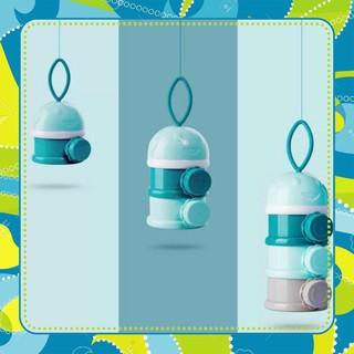 Hộp Chia Sữa Cao Cấp Của Thương Hiệu Douxbebe Có 3 Ngăn Và Quai Cầm Tiện Lợi