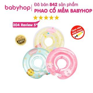 Phao cổ cho bé Hello Mambobaby của Babyhop có kèm hộp và bơm
