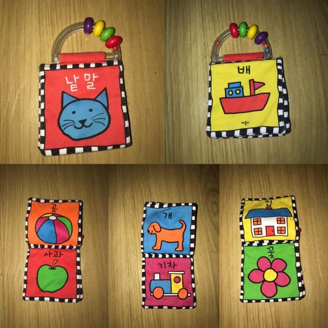 Sách vải mini Hàn Quốc cho bé (đồ si tuyển)