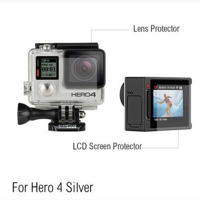 Miếng dán màn hình cho Gopro Hero 4 Silver