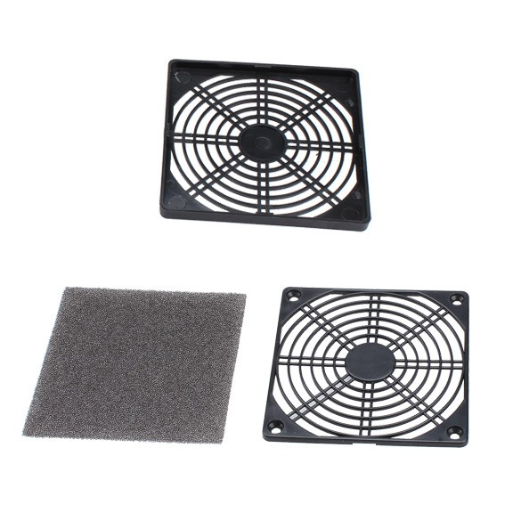 [Fricese]☞ Computer Dust-proof Filterable Mesh PC Case Fan Cooler Filter Dust Guard Giá chỉ 24.000₫