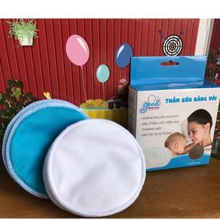 𝓐𝓷 𝓣𝓸𝓪̀𝓷 𝓒𝓱𝓸 𝓑𝓮́ Hộp 8 Miếng Lót Thấm Sữa Goodmama 4 lớp Cho Mẹ