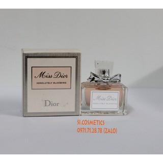 Yêu Thích[ Nắp vặn ] Nước hoa mini nữ Miss Dior Absolutely Blooming 5ml