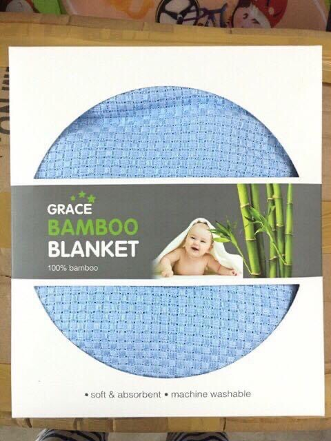 Chăn Lưới 100% Sợi Tre Bamboo Blanket ( chăn cao cấp )