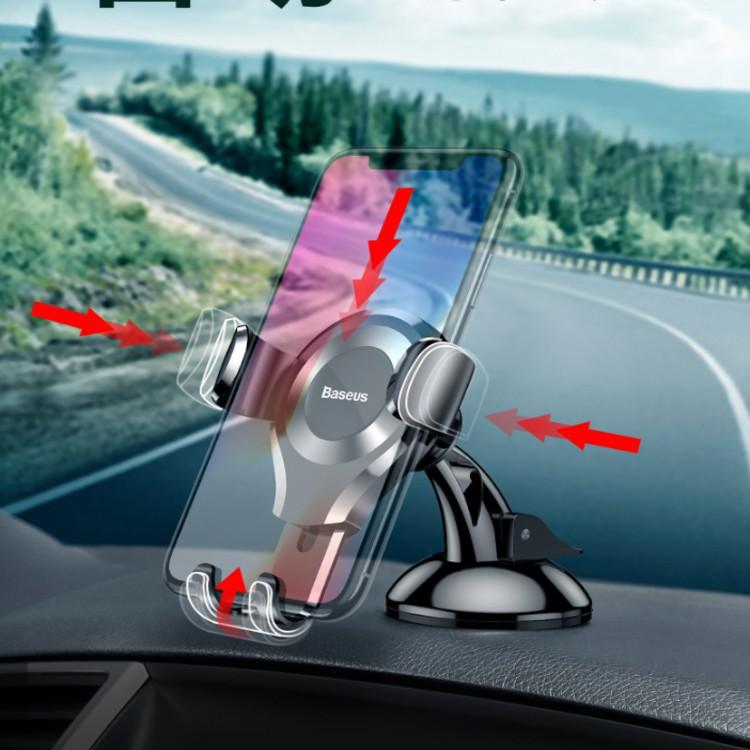 Giá đỡ điện thoại gắn taplo ô tô, xe hơi 360 độ thương hiệu Baseus SUYL-XP01 - Hàng Nhập Khẩu