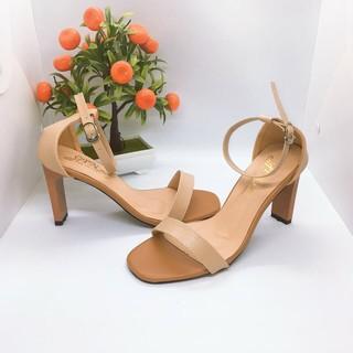 Giày cao gót / Sandal cao gót nhọn 9p chất da mềm