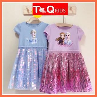 Đầm bé gái/ váy bé gái/ váy cho bé gái/ váy trẻ em/ đầm công chúa bé gái/ đồ bé gái/ váy elsa