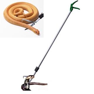 Gậy bắt rắn chuyên dụng dài 2.3m có tăng đơ rút ngắn kéo dài-Gậy kẹp rắn thumbnail