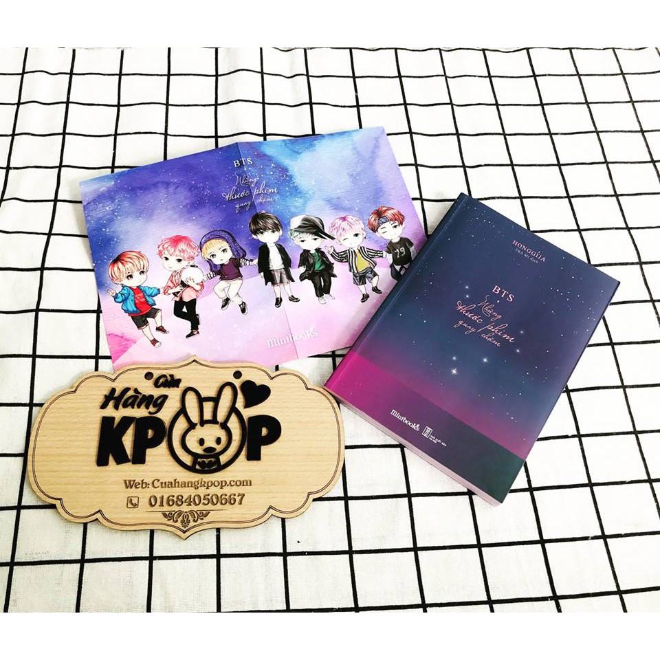 Sách BTS Những thước phim quay chậm ( Bìa mềm )