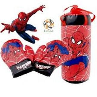 Bộ túi Boxing người nhện chắc chắn cho bé