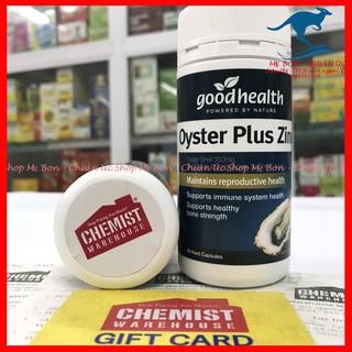 [Chính Hãng] Tinh chất hàu Úc Goodhealth Oyster Plus ZinC 60 viên thumbnail