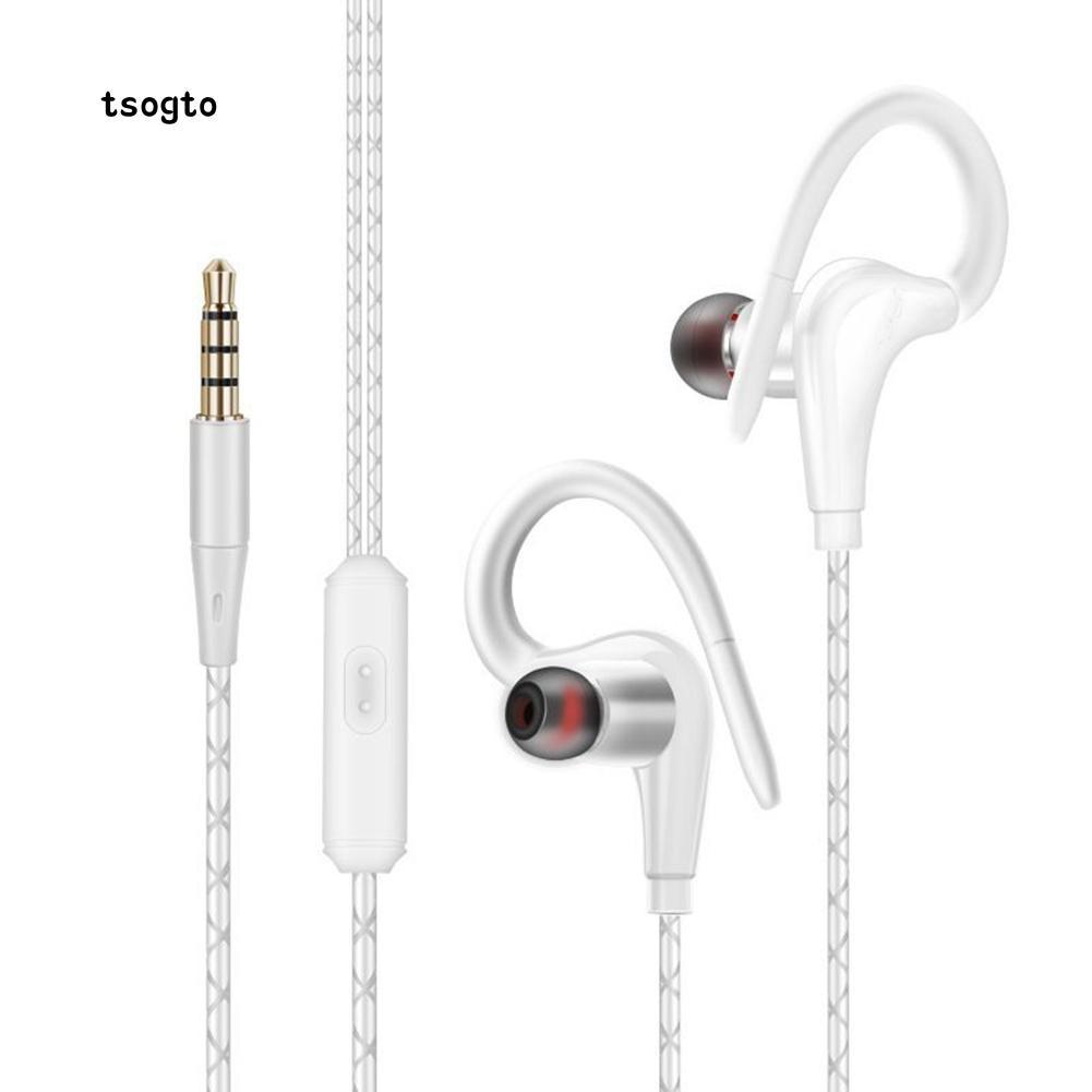 Tai nghe thể thao nhét trong với giắc cắm 3.5mm kèm micro