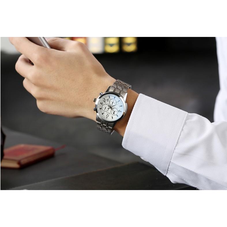 Đồng hồ nam yazole chống nước giá rẻ
