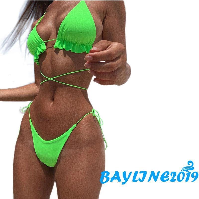 Bộ Bikini 2 Mảnh Quyến Rũ Cho Nữ