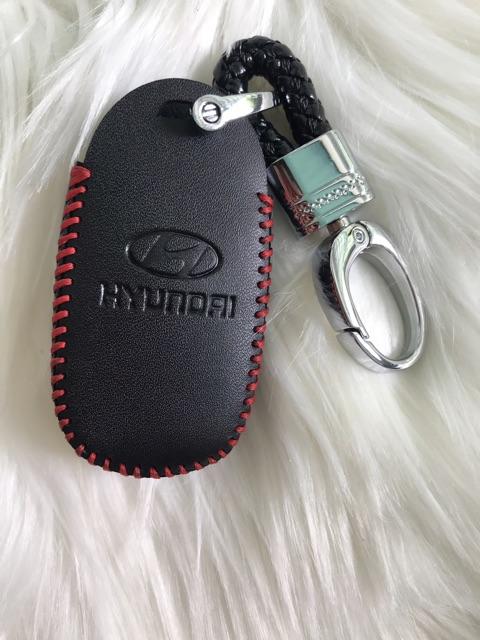 Bao da Da Chìa Khoá Thông minh Hyundai Accent 2018