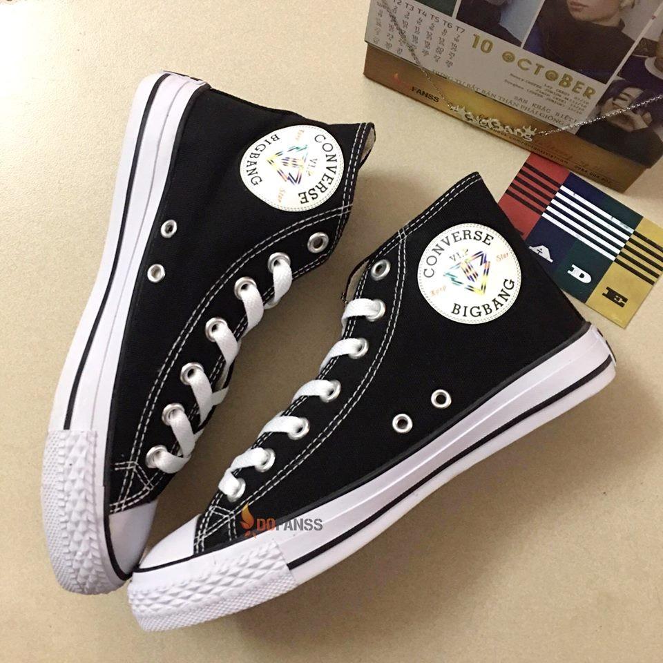 Giày Converse cổ cao BigBang đen - 2788641 , 215020323 , 322_215020323 , 345000 , Giay-Converse-co-cao-BigBang-den-322_215020323 , shopee.vn , Giày Converse cổ cao BigBang đen