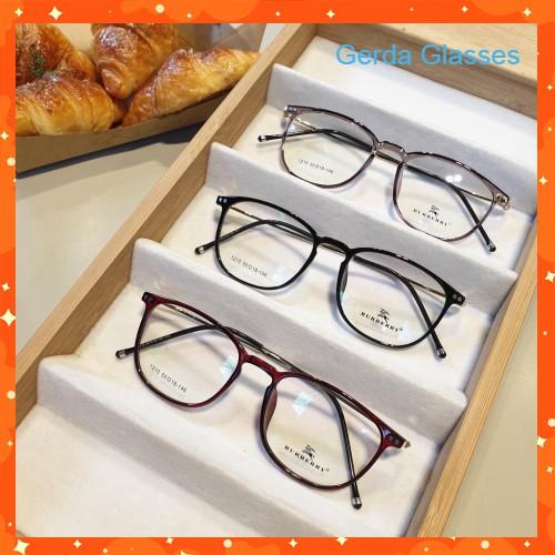 Cắt kính mắt cận-loạn Gọng kính cận tròn 1210