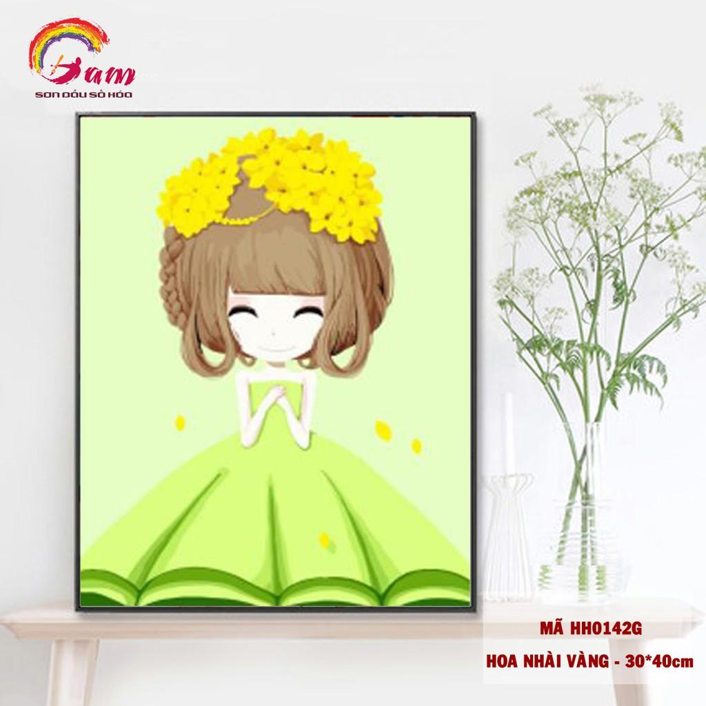 Tranh tự tô màu số hóa DIY cô gái hoa - Mã HH0142G Hoa nhài vàng - 3393772 , 1285760160 , 322_1285760160 , 128000 , Tranh-tu-to-mau-so-hoa-DIY-co-gai-hoa-Ma-HH0142G-Hoa-nhai-vang-322_1285760160 , shopee.vn , Tranh tự tô màu số hóa DIY cô gái hoa - Mã HH0142G Hoa nhài vàng