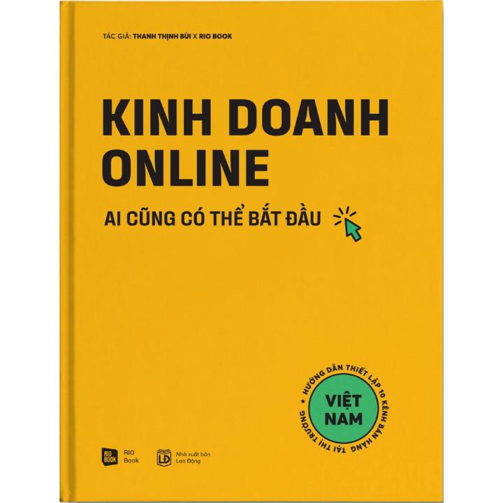 Sách - Kinh doanh online - Ai cũng có thể bắt đầu
