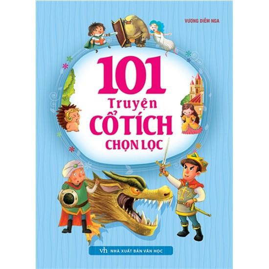 Cuốn sách 101 Truyện Cổ Tích Chọn Lọc - Tác giả: Vương Diễm Nga