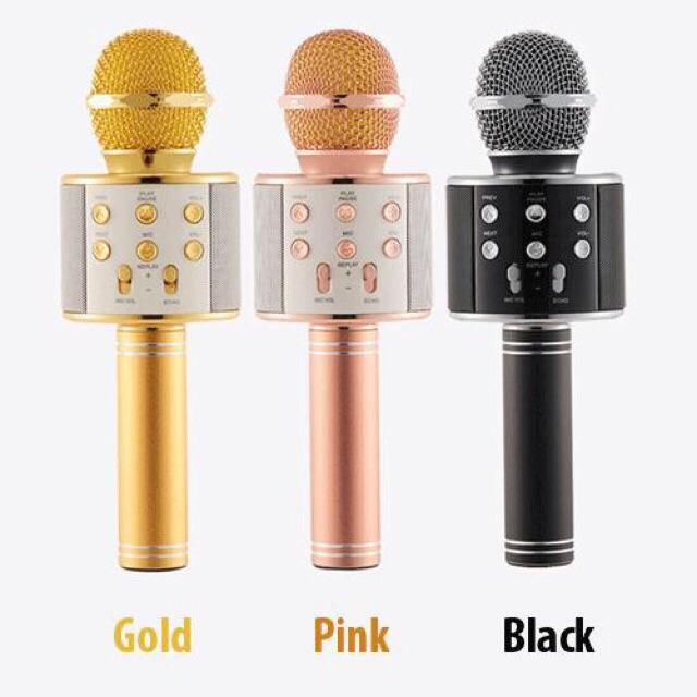 Micro kèm Loa Bluetooth WS-858 đa năng 6 trong 1 hát Karaoke - 2770071 , 263273680 , 322_263273680 , 295000 , Micro-kem-Loa-Bluetooth-WS-858-da-nang-6-trong-1-hat-Karaoke-322_263273680 , shopee.vn , Micro kèm Loa Bluetooth WS-858 đa năng 6 trong 1 hát Karaoke