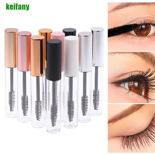 [kei] 10ml Empty Plastic Mascara Wand Tube Eyelash Bottle Brush Travel Cream Container hwLL