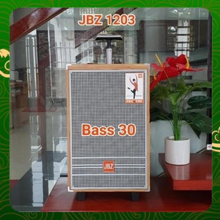 Loa kéo di động bass 30 jbz 1203 loa karaoke mini hàng chính hãng _ Nhật Việt official jbl jbz