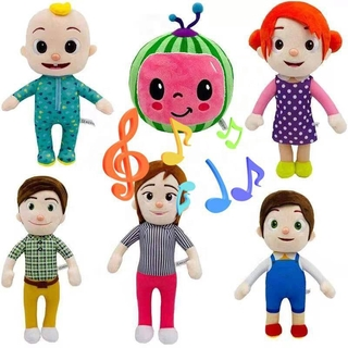 Cocomelon Toy(With Music),Cartoon Plush Doll For Kids